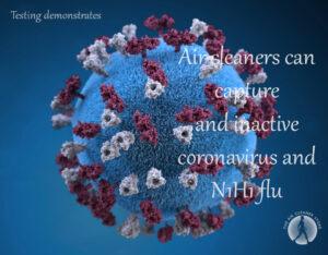 Corona Virus and HEPA Air Cleaners